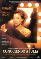 Being Julia - Spanish Movie Poster (xs thumbnail)
