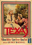 Texas - Italian Movie Poster (xs thumbnail)