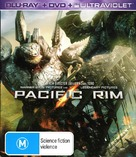 Pacific Rim - Australian Blu-Ray movie cover (xs thumbnail)