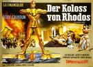 Colosso di Rodi, Il - German Movie Poster (xs thumbnail)