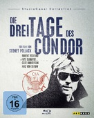 Three Days of the Condor - German Blu-Ray cover (xs thumbnail)