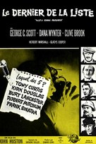 The List of Adrian Messenger - French Movie Poster (xs thumbnail)