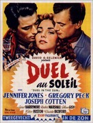 Duel in the Sun - Belgian Movie Poster (xs thumbnail)