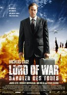 Lord Of War - German Movie Poster (xs thumbnail)