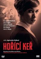 """Horící ker"" - Czech DVD movie cover (xs thumbnail)"