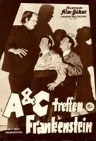 Bud Abbott Lou Costello Meet Frankenstein - German poster (xs thumbnail)