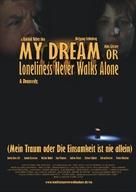 Mein Traum oder Die Einsamkeit ist nie allein - British Movie Poster (xs thumbnail)