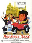 Monsieur Taxi - French Movie Poster (xs thumbnail)