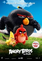 The Angry Birds Movie - French Movie Poster (xs thumbnail)