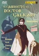 Das Cabinet des Dr. Caligari. - Spanish DVD movie cover (xs thumbnail)