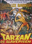 Tarzan and the Slave Girl - Danish Movie Poster (xs thumbnail)