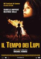 Temps du loup, Le - Italian Movie Poster (xs thumbnail)