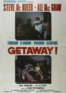 The Getaway - Italian Movie Poster (xs thumbnail)