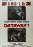 The Getaway - Italian Movie Poster (xs thumbnail)