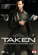 Taken - Norwegian DVD cover (xs thumbnail)