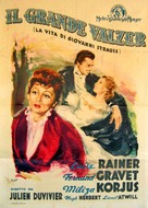 The Great Waltz - Italian Movie Poster (xs thumbnail)