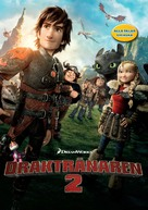 How to Train Your Dragon 2 - Swedish DVD movie cover (xs thumbnail)