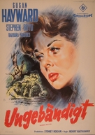 Woman Obsessed - German Movie Poster (xs thumbnail)