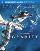 Gravity - Blu-Ray cover (xs thumbnail)