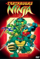 """Teenage Mutant Ninja Turtles"" - Brazilian DVD movie cover (xs thumbnail)"