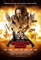 Machete Kills - Spanish Movie Poster (xs thumbnail)