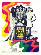 Here We Go Round the Mulberry Bush - French Movie Poster (xs thumbnail)