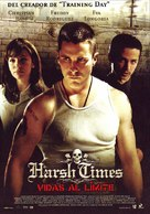 Harsh Times - Spanish Theatrical movie poster (xs thumbnail)