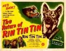 The Return of Rin Tin Tin - Theatrical poster (xs thumbnail)