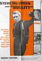 Bullitt - Swedish Movie Poster (xs thumbnail)