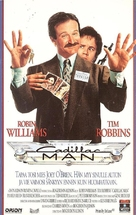 Cadillac Man - Finnish VHS movie cover (xs thumbnail)
