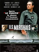 US Marshals - French Movie Poster (xs thumbnail)