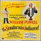 The Senator Was Indiscreet - Movie Poster (xs thumbnail)