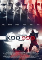 Triple 9 - Turkish Movie Poster (xs thumbnail)