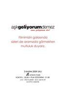 Ask geliyorum demez - Turkish Movie Poster (xs thumbnail)