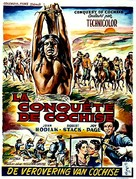 Conquest of Cochise - Belgian Movie Poster (xs thumbnail)