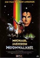 Moonwalker - German Movie Poster (xs thumbnail)