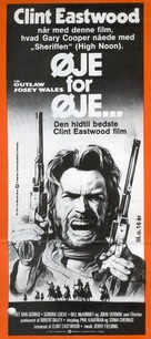 The Outlaw Josey Wales - Danish Movie Poster (xs thumbnail)