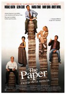 The Paper - Spanish Movie Poster (xs thumbnail)