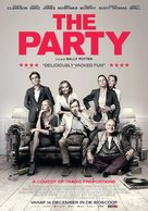 The Party - Dutch Movie Poster (xs thumbnail)