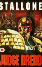 Judge Dredd - British VHS cover (xs thumbnail)