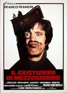Il giustiziere di mezzogiorno - Italian Movie Poster (xs thumbnail)