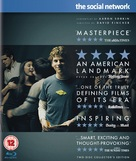 The Social Network - British Blu-Ray movie cover (xs thumbnail)