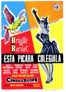 Cette sacrée gamine - Spanish Movie Poster (xs thumbnail)