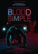 Blood Simple - German Movie Poster (xs thumbnail)