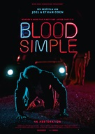 Blood Simple - German Re-release movie poster (xs thumbnail)