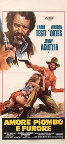 Amore, piombo e furore - Italian Movie Poster (xs thumbnail)