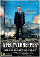 Lord Of War - Hungarian Movie Poster (xs thumbnail)