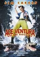 Ace Ventura: When Nature Calls - Czech DVD movie cover (xs thumbnail)