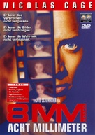 8mm - German DVD cover (xs thumbnail)