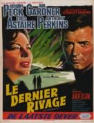 On the Beach - Belgian Movie Poster (xs thumbnail)